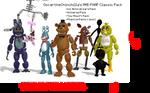 MMD- FNAF Classic Pack (DL)
