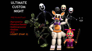 MMD- UCN Pack (DL) by OscartheChinchilla