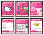 Pink Hello Kitty Phone Theme