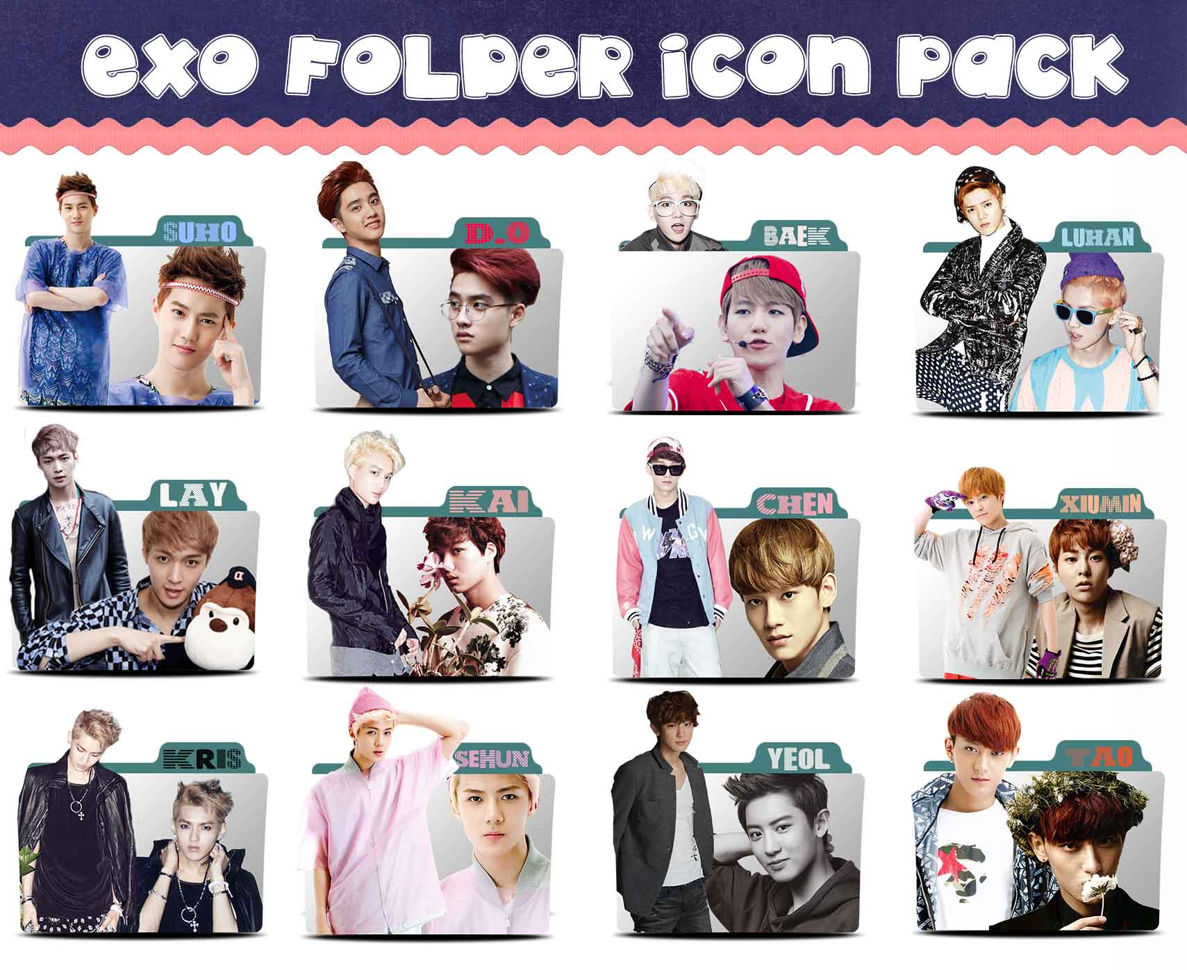 Icon pack EXO by sirius-12 on DeviantArt