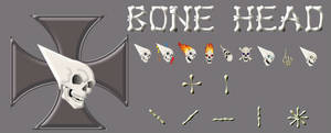 BONE HEAD 2 CURSOR