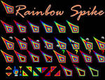 RAINBOW SPIKE CURSOR