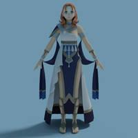 Female Dancer Model (FE3H) - XPS
