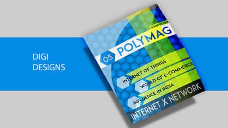 The Magazine Mockup and Design by deviantdesignerr