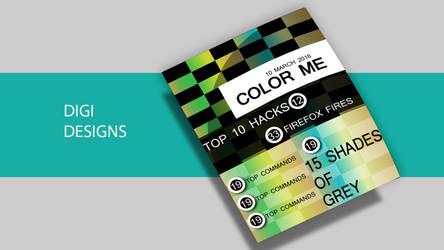 The Magazine Mockup Colorme by deviantdesignerr