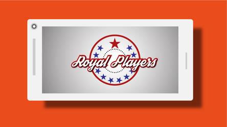 Mobile Mockup Logo Design tutorial Royal Players by deviantdesignerr