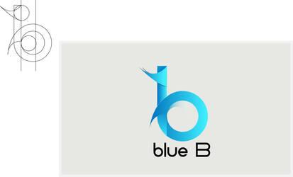 Blue B Logo Design by deviantdesignerr