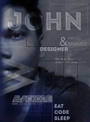 John Poster by deviantdesignerr