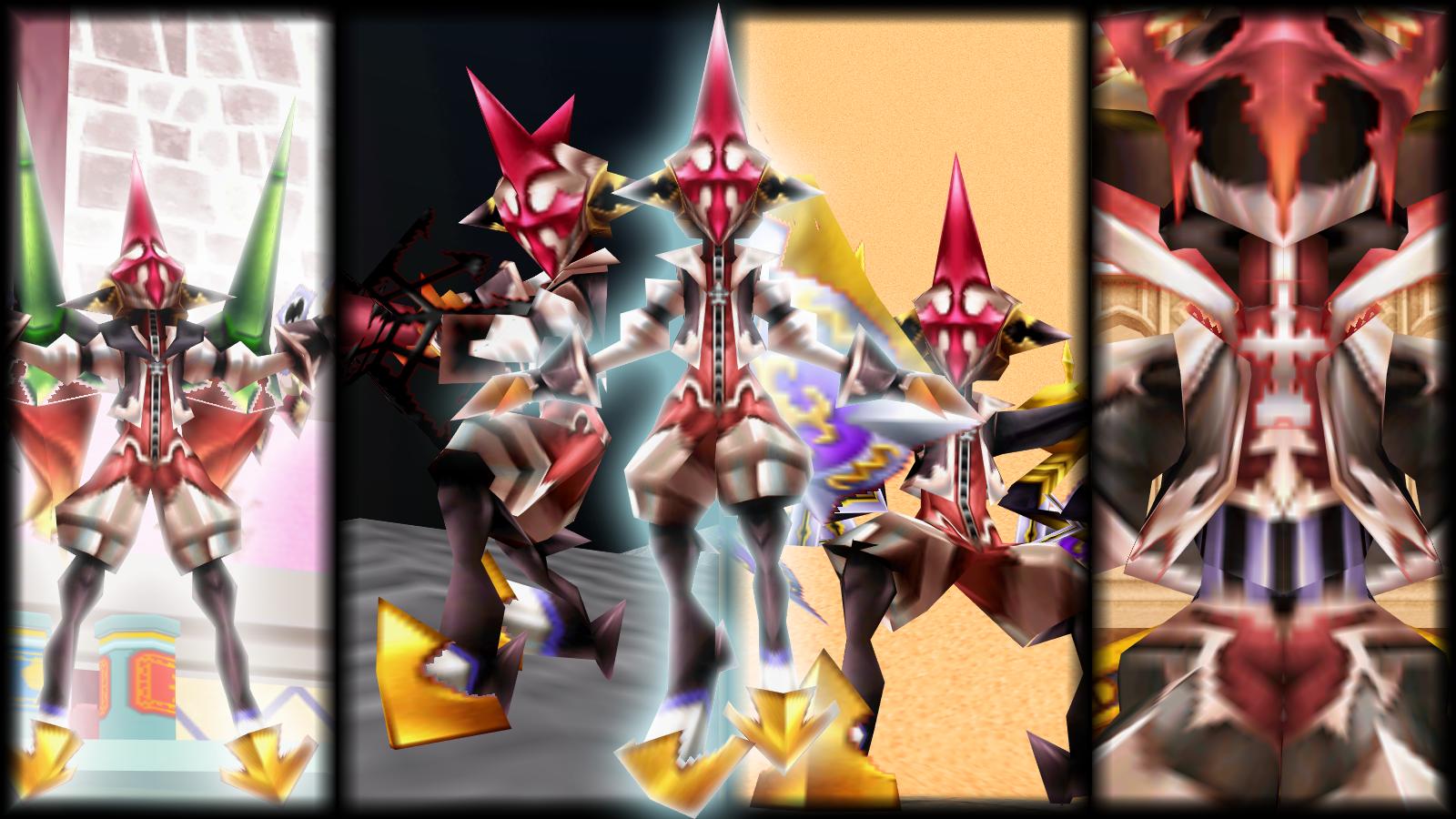 Armor Xion Boss Pack (+5th Bonus model) by ViviSaphira on DeviantArt