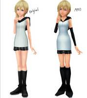 Older Namine Outfit (MMD Ver DL)