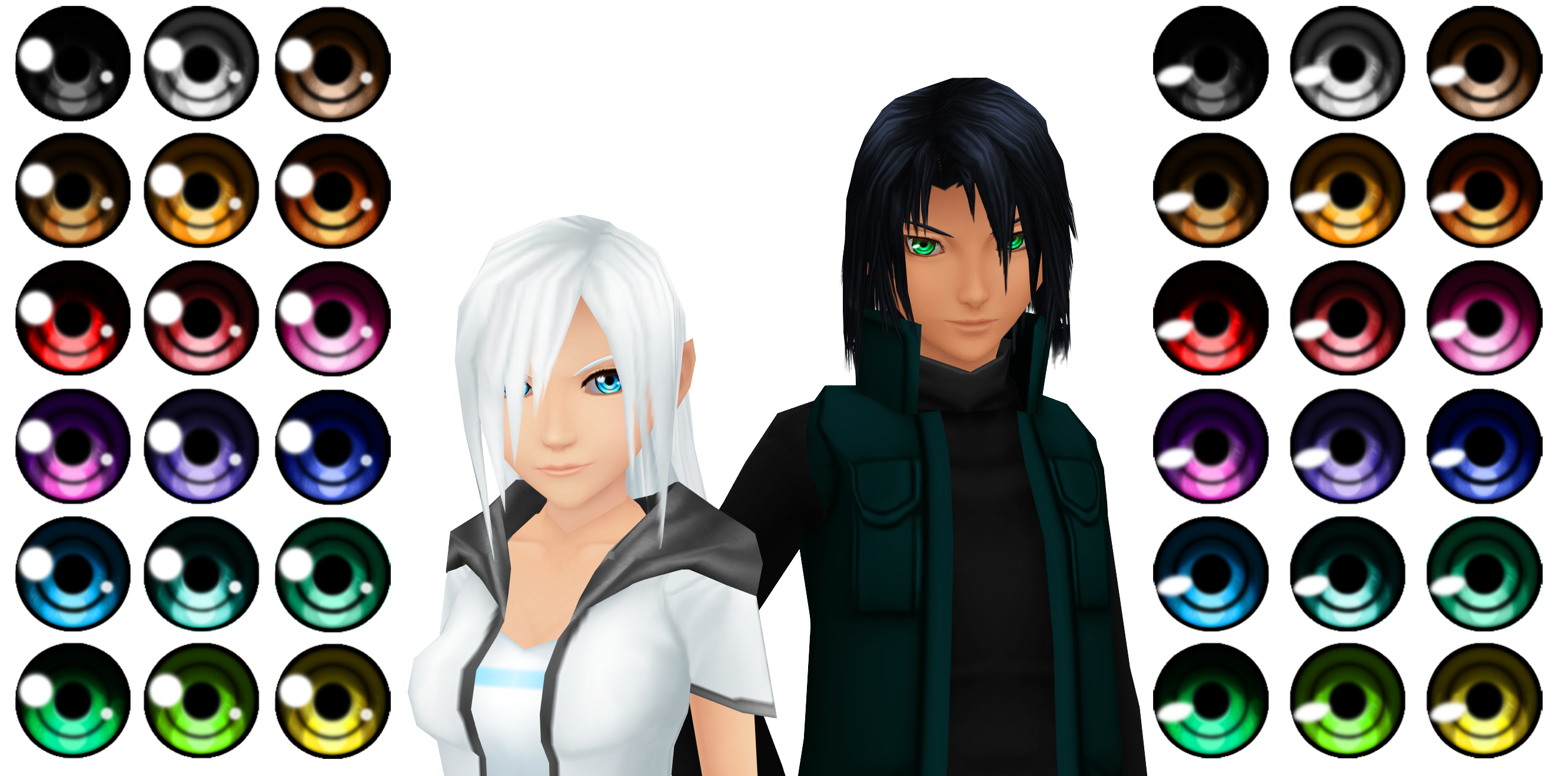 Kingdom Hearts GIMP Patterns DOWNLOAD by Reseliee on DeviantArt