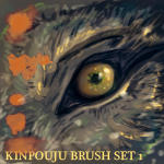 Kinpouju Photoshop Brushset-1 by Valhalrion