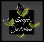 Je t'aime Script