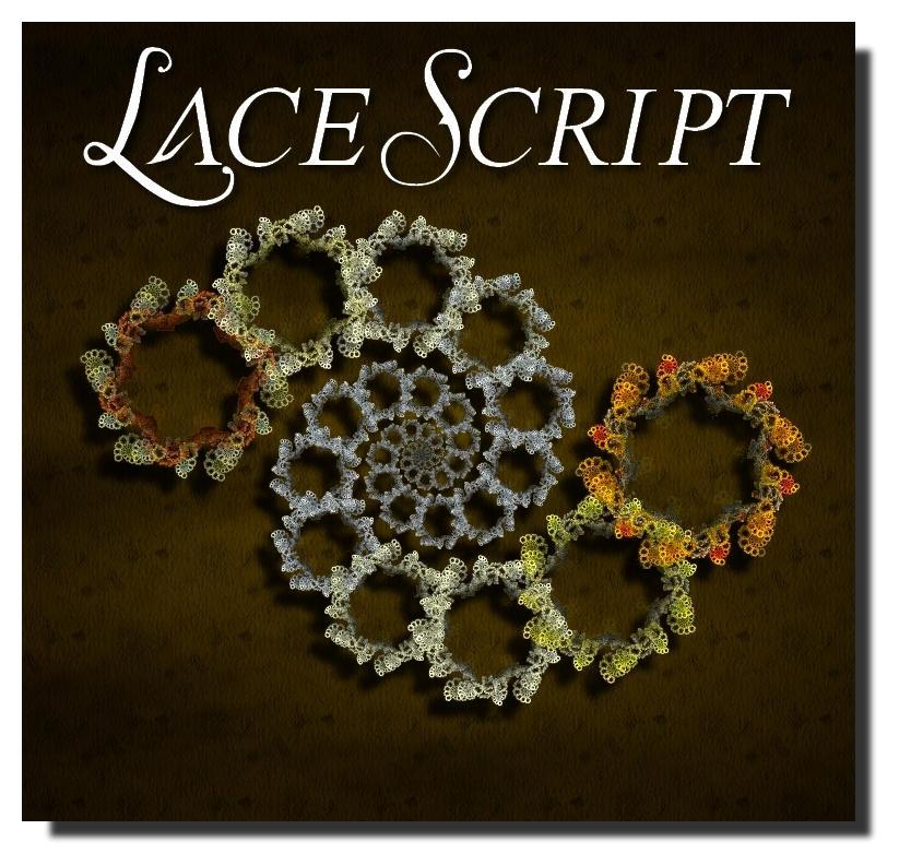 Lace Script by Valerie-Ducom