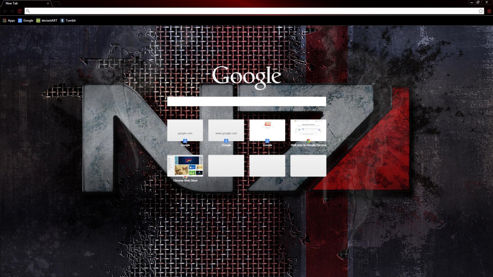 Google uk themes - N7 Battle Damage Theme