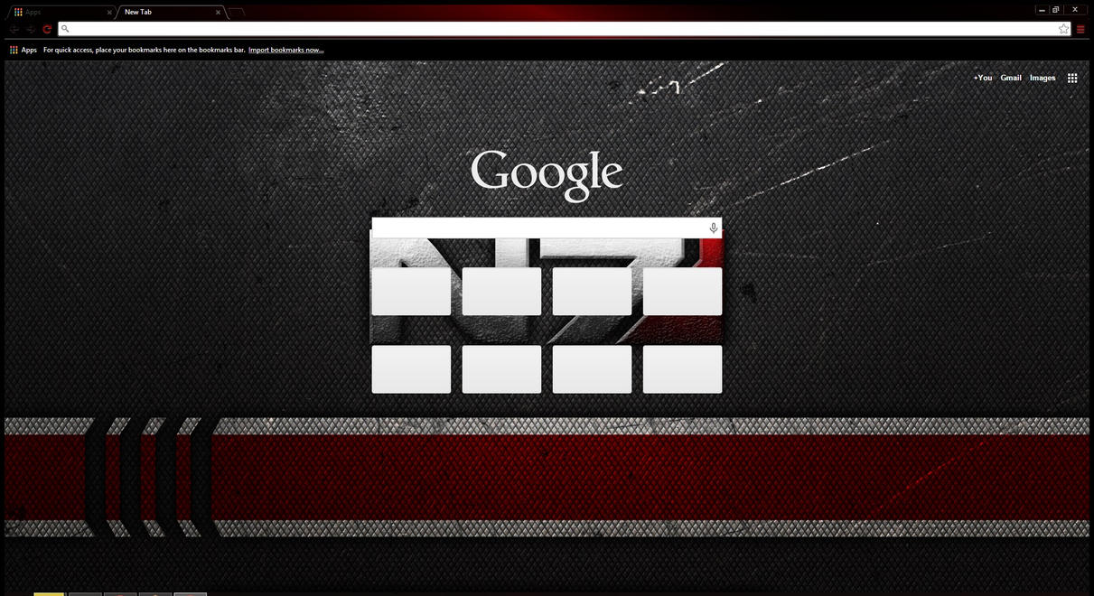 how to change background theme in google chrome