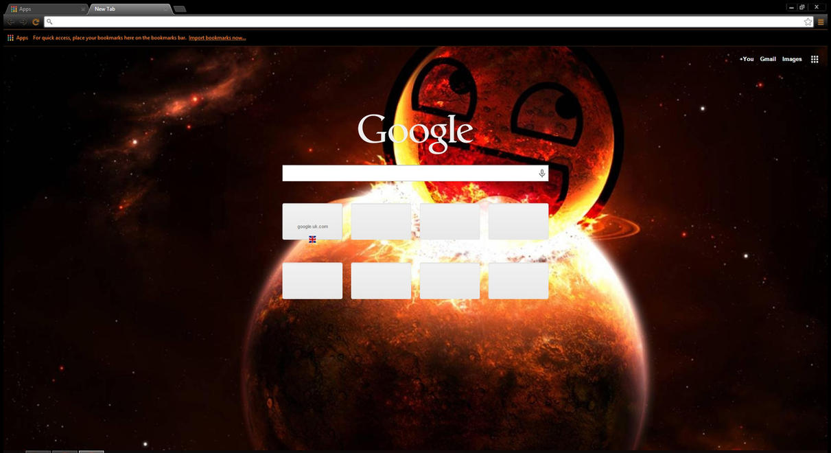 Google themes super junior - Space Awesome Face Theme By Eadorimthryth