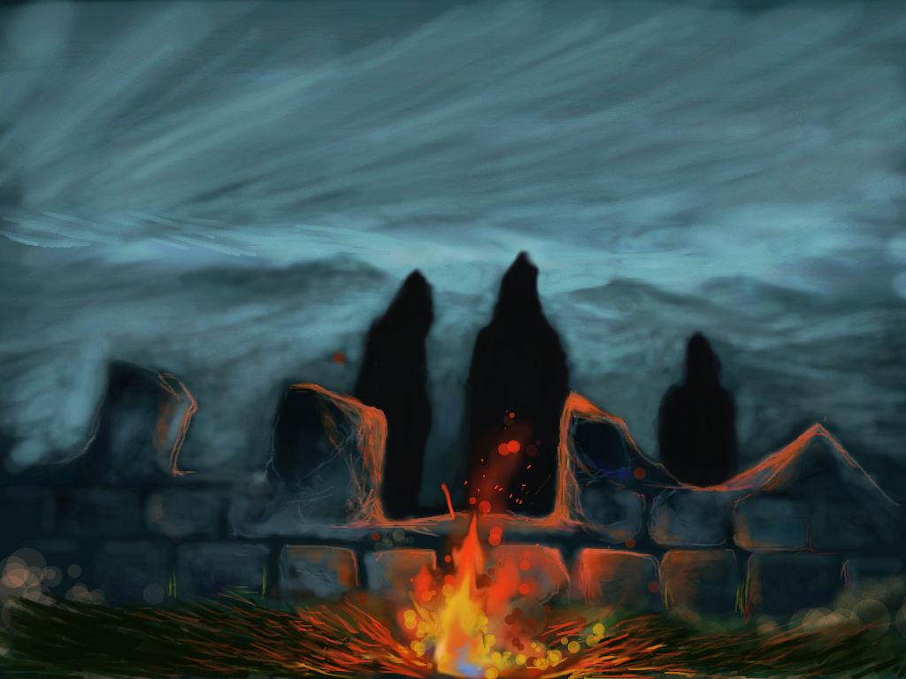 LOTR: Ring-Wraiths on Weathertop