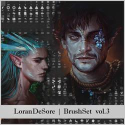LoranDeSore brushset v.3 by LoranDeSore