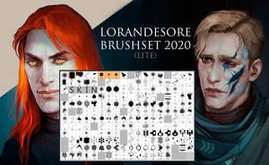 Lorandesore Brushset 2020