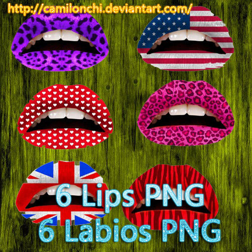Lips PNG - Labios PNG by Camilonchi