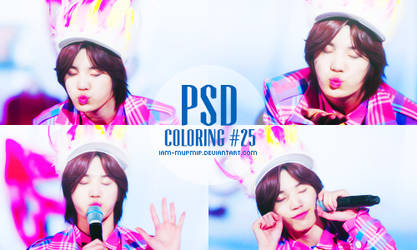 PSD Coloring #25 by IAM-MUPMIP