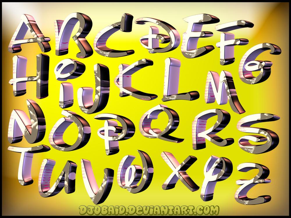brushes font: