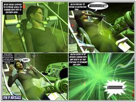 Savage SheHulk in 'Gamma Ray Machine II' PG 3 by mercblue22