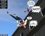 Linda Danvers becomes Supergirl Falling TF 1a