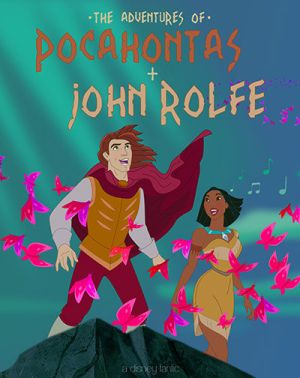 Pocahontas And John Rolfe And John Smith