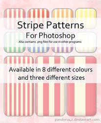 Stripe Patterns for PS