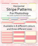 Horizontal Stripes for PS