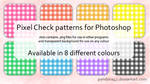 Pixel Check Patterns for PS