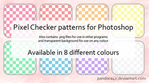 Pixel Checker Patterns for PS by Pandora42