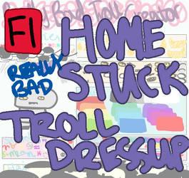 Really Bad Homestuck Troll Creator