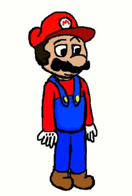Mario by WarrenHall12