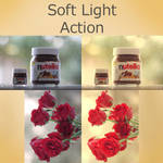 Free Soft Light PS Action