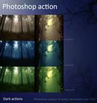 Dark actions ...