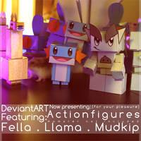 DeviantART Actionfigures by Tijgerkat