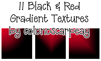 Red and Black Textures by colonoscarpeay