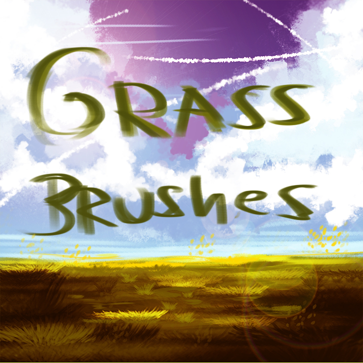 Grass Brushes by ryky