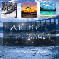 ALL MY BRUSHES by ryky