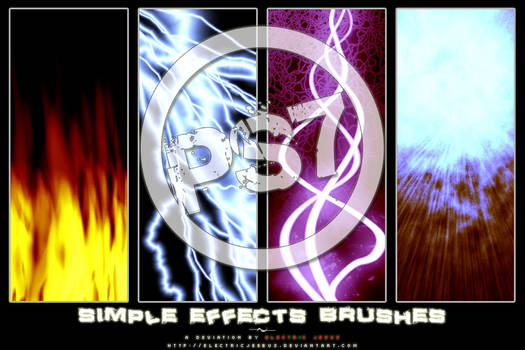 Simple Effects Brushes for PS7
