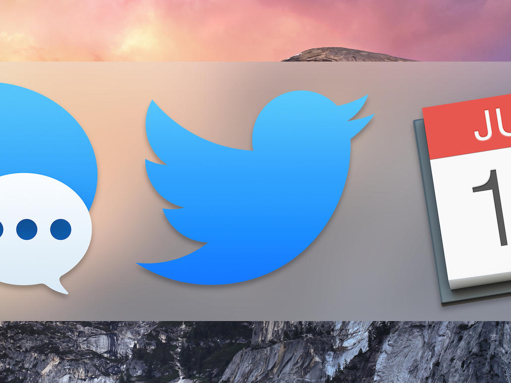 Twitter App Icon for OS X Yosemite by antonio1zamudio on DeviantArt