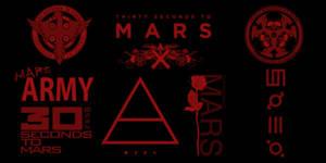 30 Seconds to Mars brush set