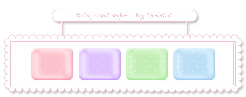Baby pastel styles - by SweetIvi by SweetIvi
