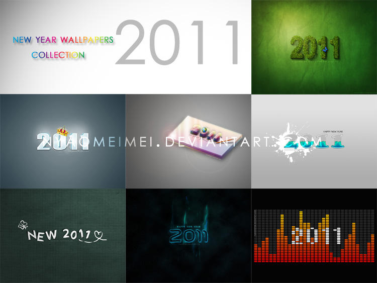 2011 Wallpaper collection by meipikachu