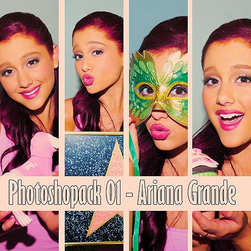Ariana Grande - Photopack 01. by iGomezhipster
