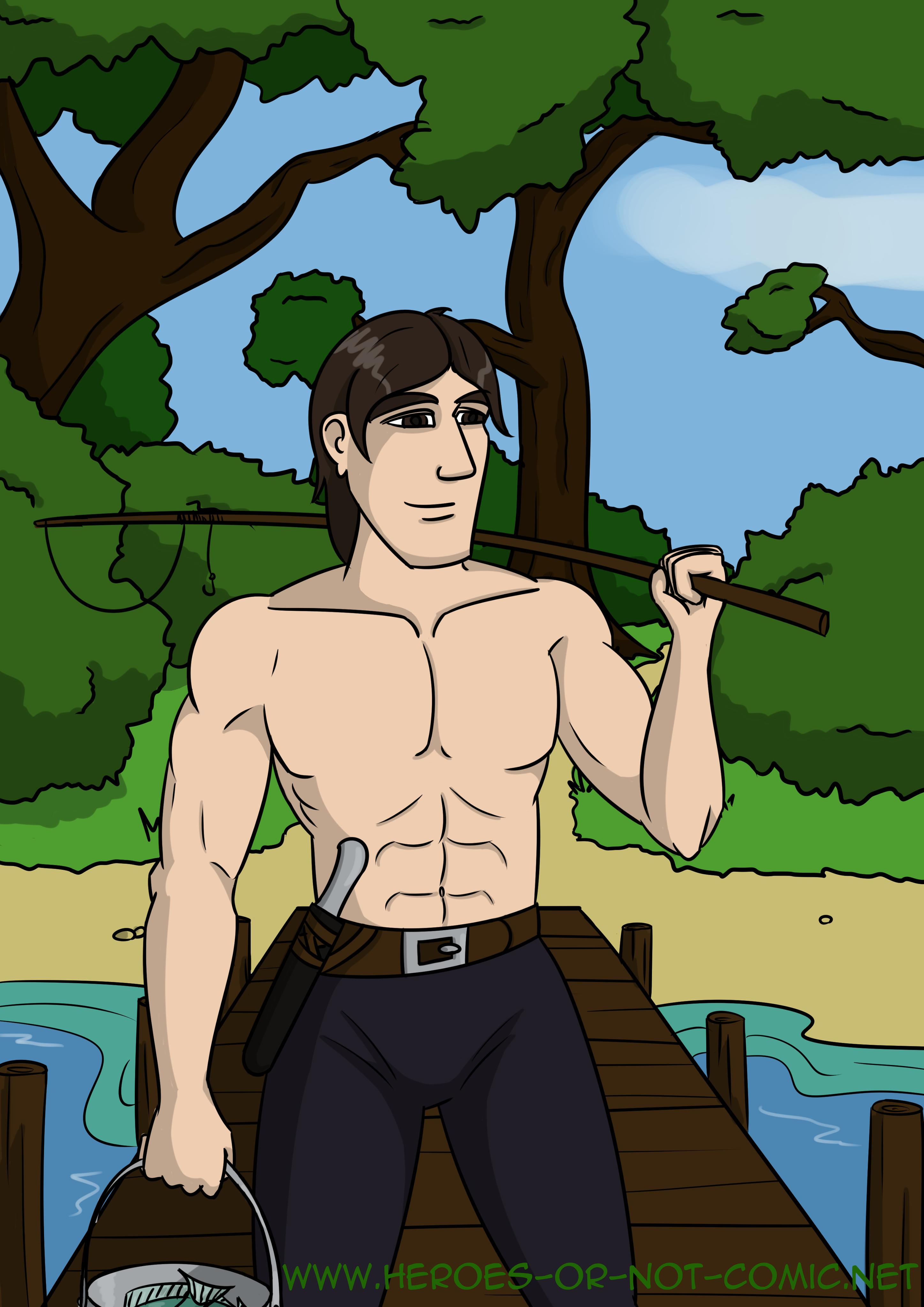Eyldram Goes Fishing by jfDoyon