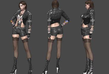 Jill Biker Outfit Alt *UPDT* by Marcelievsky